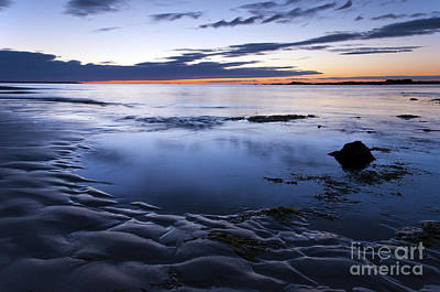 Photograph - Blue Morning Wells Beach Maine by Glenn Gordon