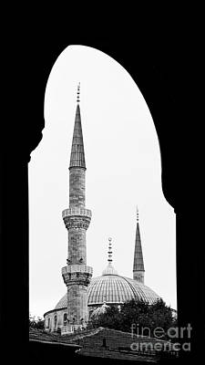 Photograph - Blue Mosque 01 by Rick Piper Photography