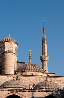 Photograph - Blue Mosque 02 by Rick Piper Photography