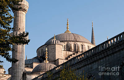 Photograph - Blue Mosque 03 by Rick Piper Photography