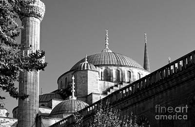 Photograph - Blue Mosque 04 by Rick Piper Photography
