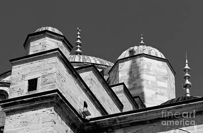 Photograph - Blue Mosque Angles by Rick Piper Photography