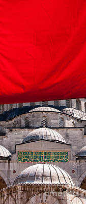 Photograph - Blue Mosque Domes 04 by Rick Piper Photography