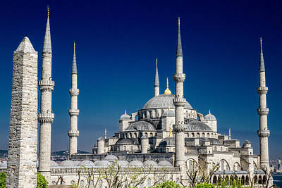 Photograph - Blue Mosque In Istanbul by For Ninety One Days