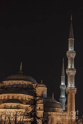 Istanbul Photograph - Blue Mosque Istanbul by Shishir Sathe