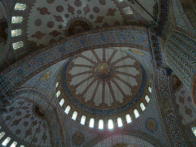 Photograph - Blue Mosque by John Johnson