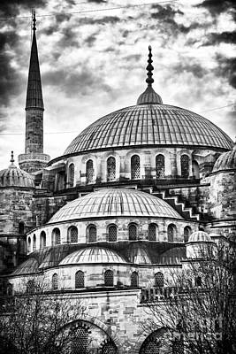 Sultanhmet Photograph - Blue Mosque Majesty by John Rizzuto