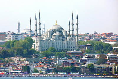 Islam Wall Art - Photograph - Blue Mosque by Photography By P. Lubas