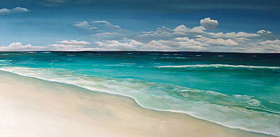 Painting - Blue Mountain Bliss by Racquel Morgan