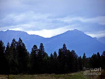 Photograph - Blue Mountain Special by Christian Mattison