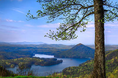 Ocoee Photograph - Blue Mountains by Debra and Dave Vanderlaan