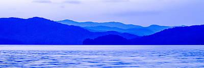 Photograph - Blue Mountains Silhouettes by Alex Grichenko