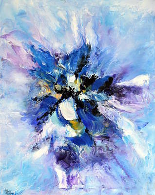 Painting - Blue Mystery by Isabelle Vobmann