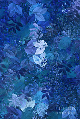 Digital Art - Blue - Natural Abstract Series by Aimelle