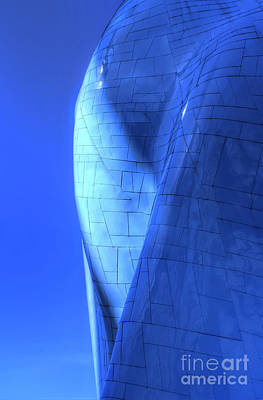 Photograph - Blue On Blue by Chris Anderson