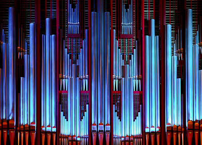 Aotearoa Photograph - Blue Organ Pipes by Jenny Setchell