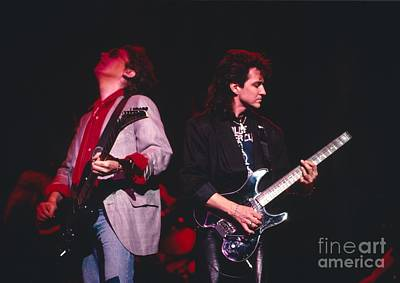 Blue Oyster Cult Photograph - Blue Oyster Cult by David Plastik