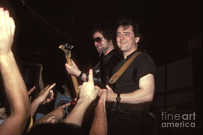 Blue Oyster Cult Photograph - Blue Oyster Cult - Eric Bloom And Buck Dharma by Concert Photos