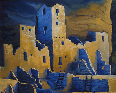 Painting - Blue Palace by Jerry McElroy
