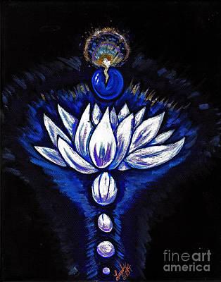 Inner Self Painting - Blue Pearl by Lorah Buchanan