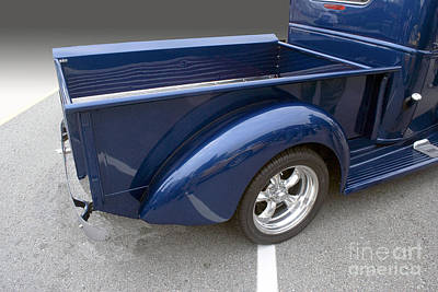 Photograph - Blue Pickup by Bill Thomson