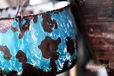 Photograph - Blue Pot by John Rizzuto