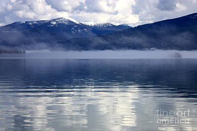 Photograph - Blue Priest Lake by Carol Groenen