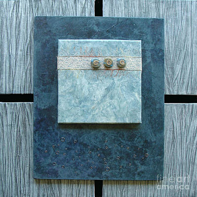Relief - Blue Quietude by Phyllis Howard