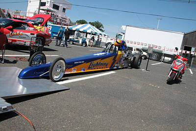 Photograph - Blue Racer by Mustafa Abdullah