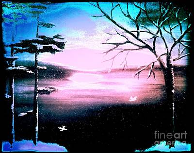 Painting - Blue Ray by Denise Tomasura