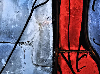 Photograph - Blue Red And Blue by Marianne Campolongo
