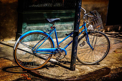Photograph - Blue Ride Home by Melinda Ledsome