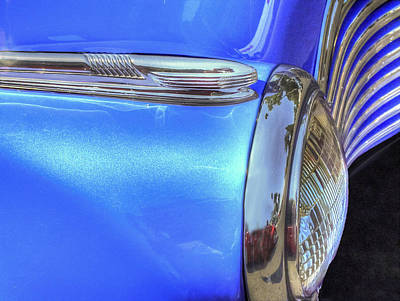 Photograph - Blue Ride by Paul Wear