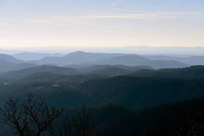 Photograph - Blue Ridge At Dawn by Teresa Tilley