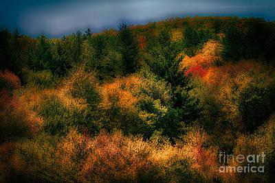 Photograph - Blue Ridge At Night by Dan Carmichael