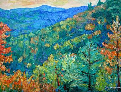 Painting - Blue Ridge Autumn by Kendall Kessler