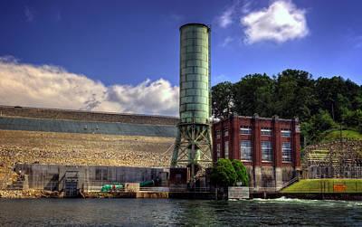 Tva Photograph - Blue Ridge Dam by Greg and Chrystal Mimbs