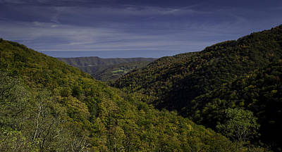 Photograph - Blue Ridge Day by Bonnie Leigh Delar