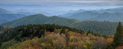 Blue Ridge Parkway Photograph - Blue Ridge Evening by Andrew Soundarajan