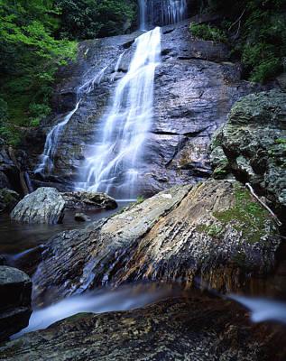 Photograph - Blue Ridge Falls by Ray Mathis