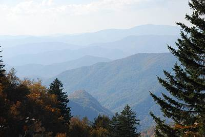 Photograph - Blue Ridge In The Fall by Michael Gooch