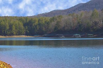 Photograph - Blue Ridge Lake Point 8 by Michael Waters