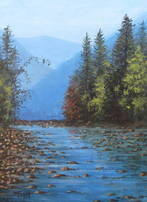 Painting - Blue Ridge Landscape by Gene Foust