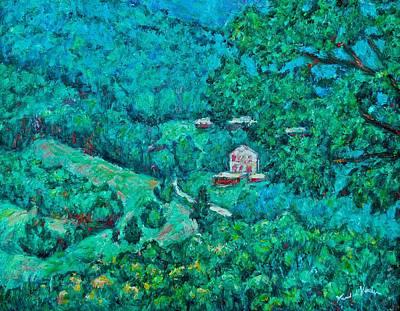 Blue Ridge Magic Art Print by Kendall Kessler