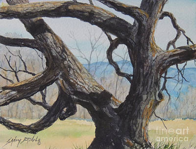 Painting - Blue Ridge Memories...sold by Sandy Brindle