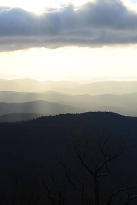 Photograph - Blue Ridge Mist 2 by Teresa Tilley