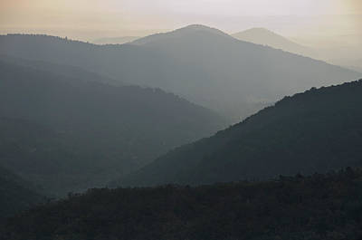 Photograph - Blue Ridge Morning by Jon Exley