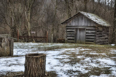 Photograph - Blue Ridge Mountain Farm by Steve Hurt