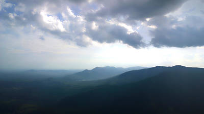 Photograph - Blue Ridge Mountains Caesars Head State Park by Kelly Hazel