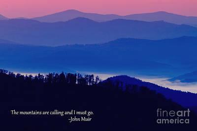Blue Ridge Mountains Art Print by Dawna  Moore Photography